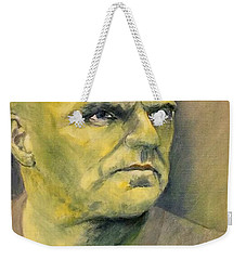 Determination / Portrait Weekender Tote Bag