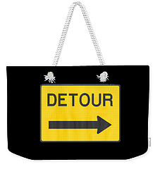 Detour T-shrit Weekender Tote Bag by Herb Strobino