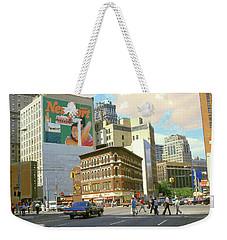 Detroit Michigan 84 - Watercolor Weekender Tote Bag