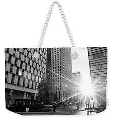 Detroit Shinning  Weekender Tote Bag