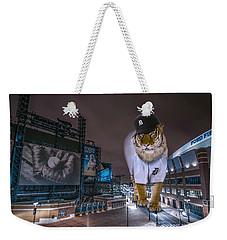 Detroit Tigers At  Comerica Park Weekender Tote Bag by Nicholas  Grunas