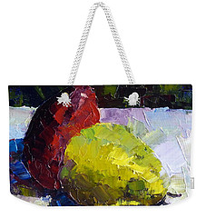 Deux D'anjou Weekender Tote Bag by Susan Woodward
