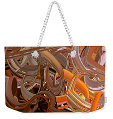 Development Of Lines Weekender Tote Bag