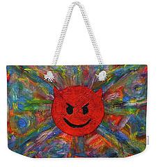 Devil Abtract Weekender Tote Bag