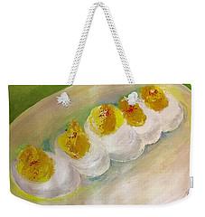 Devilled Eggs Weekender Tote Bag