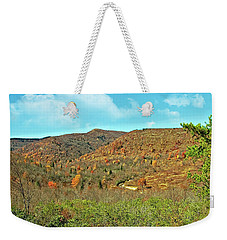 Devils Courthouse Weekender Tote Bag by Susan Leggett