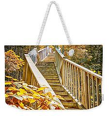 Devil's Kettle Stairway Weekender Tote Bag