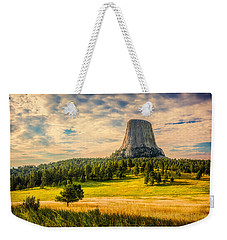 Devil's Tower - The Other Side Weekender Tote Bag