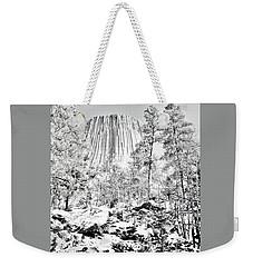 Devils Tower Wyoming Weekender Tote Bag