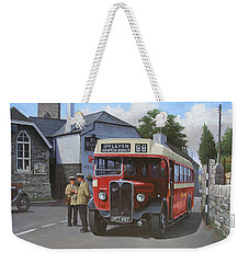 Devon General Aec Regal. Weekender Tote Bag