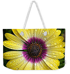 Dew Dropped Daisy Weekender Tote Bag
