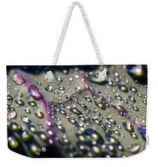 Dew Drops Weekender Tote Bag by Raffaella Lunelli