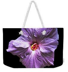 Dew Kissed Hibiscus Weekender Tote Bag