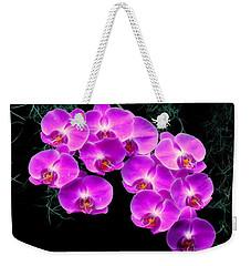 Dew-kissed Orchids Weekender Tote Bag