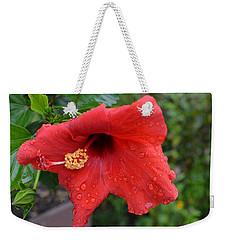 Dew On Flower Weekender Tote Bag