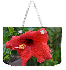 Dew On Flower Weekender Tote Bag