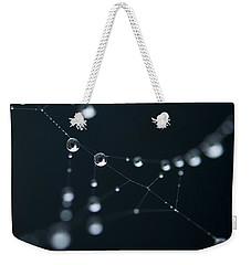Dewdrop On Cobweb 002 Weekender Tote Bag