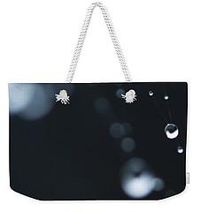 Dewdrops On Cobweb 004 Weekender Tote Bag
