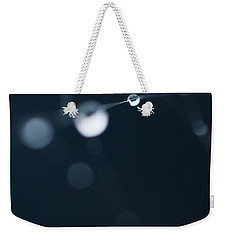 Dewdrops On Cobweb 005 Weekender Tote Bag