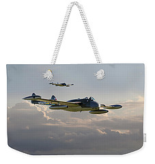 Weekender Tote Bag featuring the photograph  Dh112 - Venom by Pat Speirs