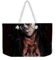 Dia De Los Muertos 3 Weekender Tote Bag by Pete Tapang