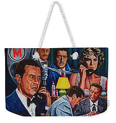 Dial M For Murder Weekender Tote Bag