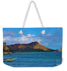 Diamond Head  Weekender Tote Bag by Craig Wood