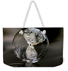 Weekender Tote Bag featuring the photograph Diamond In The Rough by Cathie Douglas