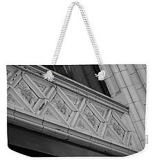 Diamond Patterns In Black And White Weekender Tote Bag