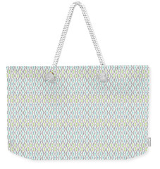 Diamond Rain Faded Gray Weekender Tote Bag