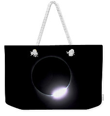 Diamond Ring During Solar Eclipse Weekender Tote Bag