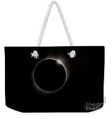 Diamond Ring Eclipse Weekender Tote Bag