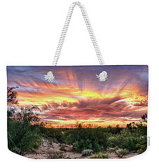 Diamond Sky Weekender Tote Bag