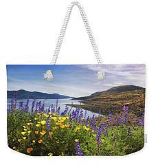 Diamond Valley Weekender Tote Bag by Tassanee Angiolillo