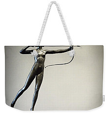 Diana Of The Tower Weekender Tote Bag by Joseph Skompski