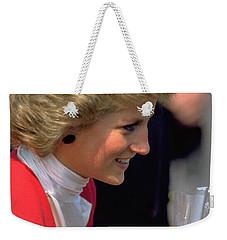 Diana Princess Of Wales Weekender Tote Bag