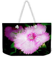 Dianthus Flower Weekender Tote Bag