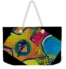 Try...all  And Error Weekender Tote Bag by Kathie Chicoine