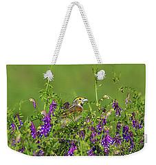 Dickcissel - 8256 Weekender Tote Bag