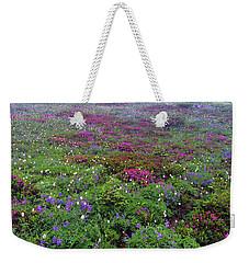 Dickerman Floral Meadow Weekender Tote Bag