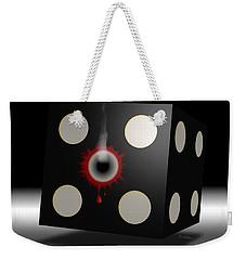 Weekender Tote Bag featuring the digital art Five Die by Vincent Autenrieb