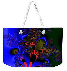 Weekender Tote Bag featuring the digital art Diesseogge by Andrew Kotlinski