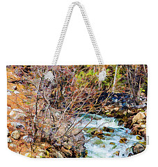 Diffused Dream Weekender Tote Bag by Nancy Marie Ricketts
