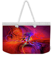 Digital Abstract Art Collection Weekender Tote Bag