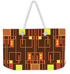 Digital Deco Weekender Tote Bag