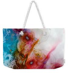 Weekender Tote Bag featuring the digital art Digital Dreaming by Linda Sannuti