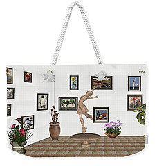 digital exhibition _ A sculpture of a dancing girl 14 Weekender Tote Bag