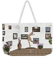 digital exhibition _ A sculpture of a dancing girl 14 Weekender Tote Bag