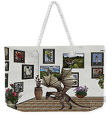 Digital Exhibition _ Dragon Weekender Tote Bag