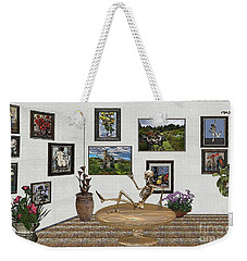 Digital Exhibition _ Relaxation In The Afterlife Weekender Tote Bag by Pemaro